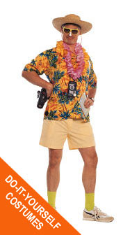 Tacky Tourist Goodwill do-it-yourself costume | Create a ...