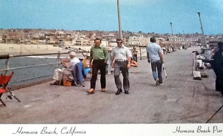 1960s hermosa beach pier ron felsing flickr for Redondo beach fishing report