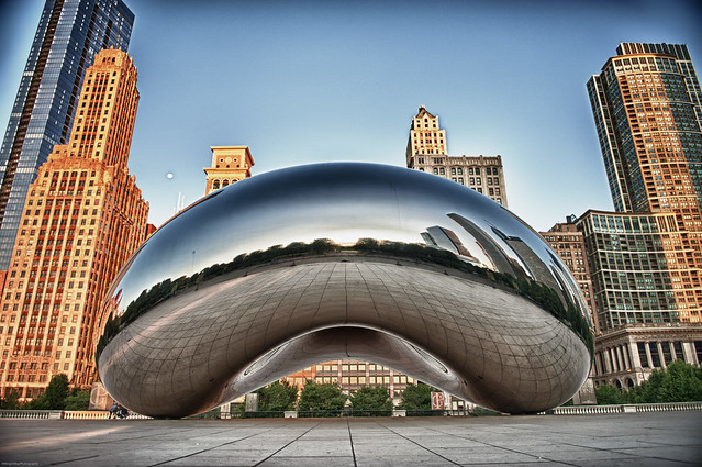 The Chicago Bean At Sunrise Flickr Photo Sharing