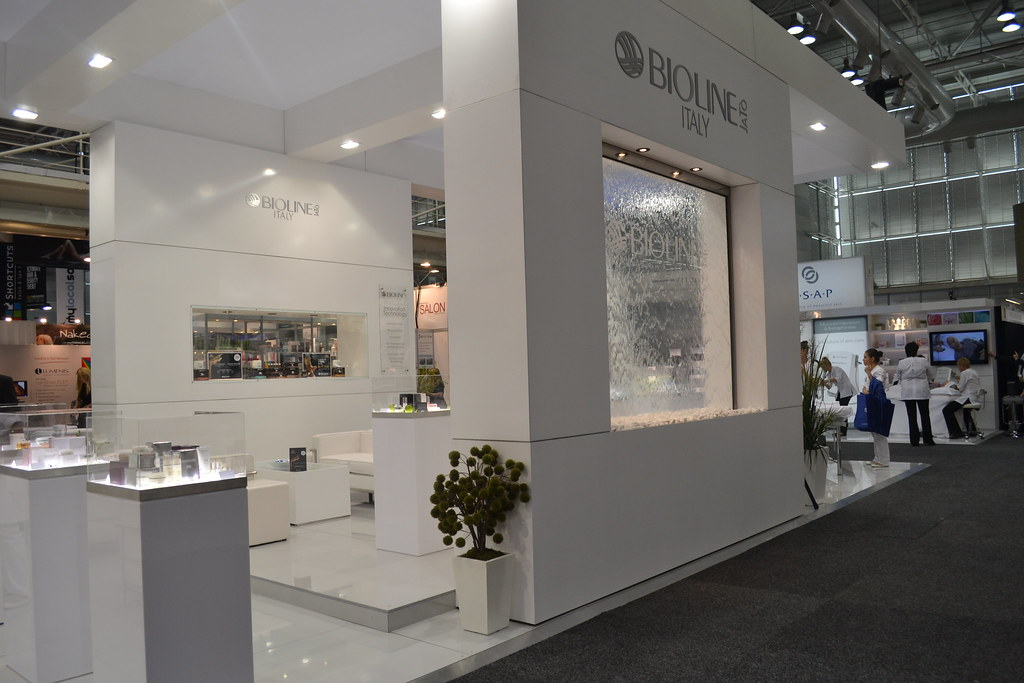 Beauty Expo Stands : Bioline exhibition stand spa beauty expo sydney