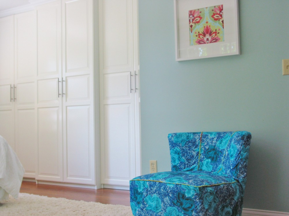 ... Master Bedroom Remodel ~ Ikea Closet | By Niesz Vintage Fabric