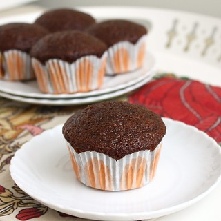 Hot Peppered Gingerbread Muffins with Orange Maple Butter | by Tracey's Culinary Adventures