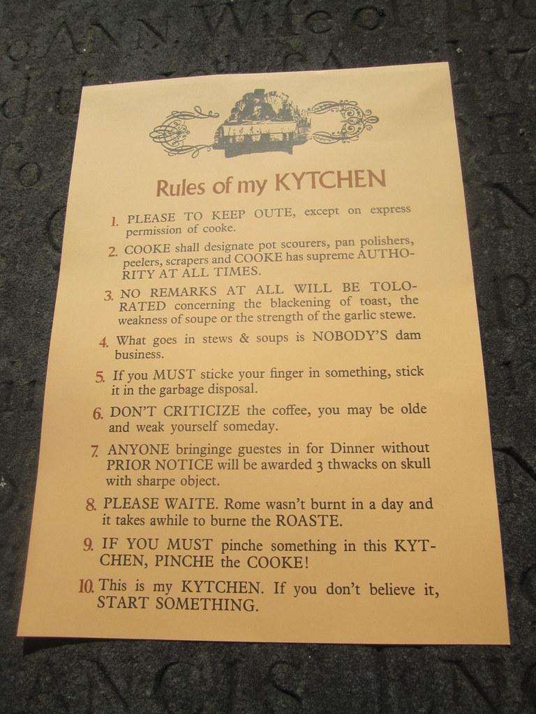 White Kitchen Rules