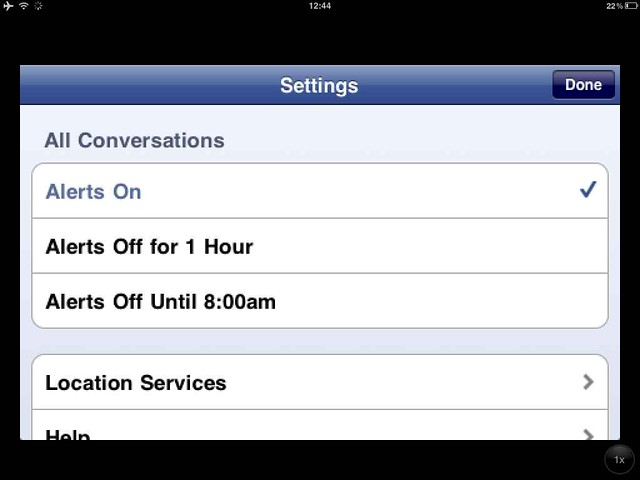 how to change facebook messenger settings