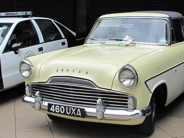 Ford Zephyr Zodiac, 50s classic car