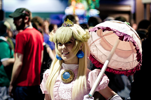 PAX 2011 Princess Peach Cosplay | by Viet Hoang