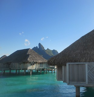 The St. Regis Bora Bora Resort - Mt. Otemanu view | by Super Starfish