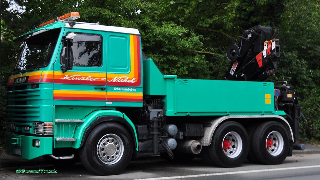 D Kinzler Nickel Scania 143 450 Aufgenommen Während Der Flickr