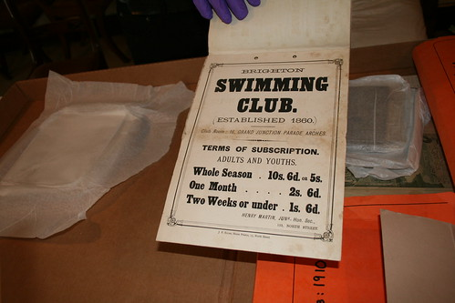 Brighton Swimming Club Archives 1860 | by Floating Memories - Brighton Swimming Club Archive