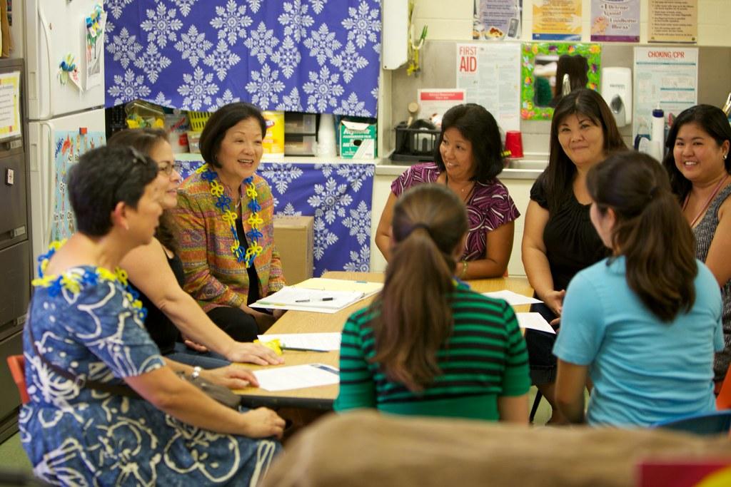 kaneohe preschools congresswoman mazie hirono meets with kaneohe elementary s 577