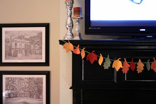 fall garland | by artsy-crafty babe