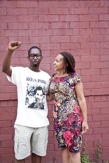 Kevin Epps and Dr. Joy DeGruy Leary | by FAMSF