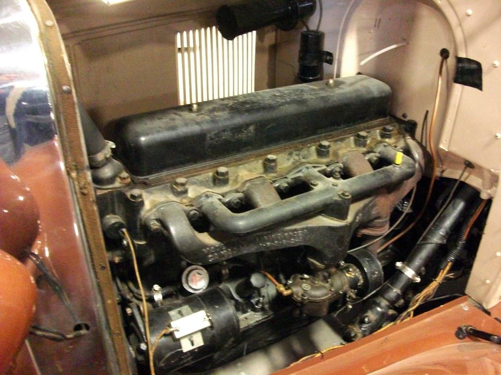 1929 Chevrolet Engine 1929 Chevrolet Inline Six Cylinder