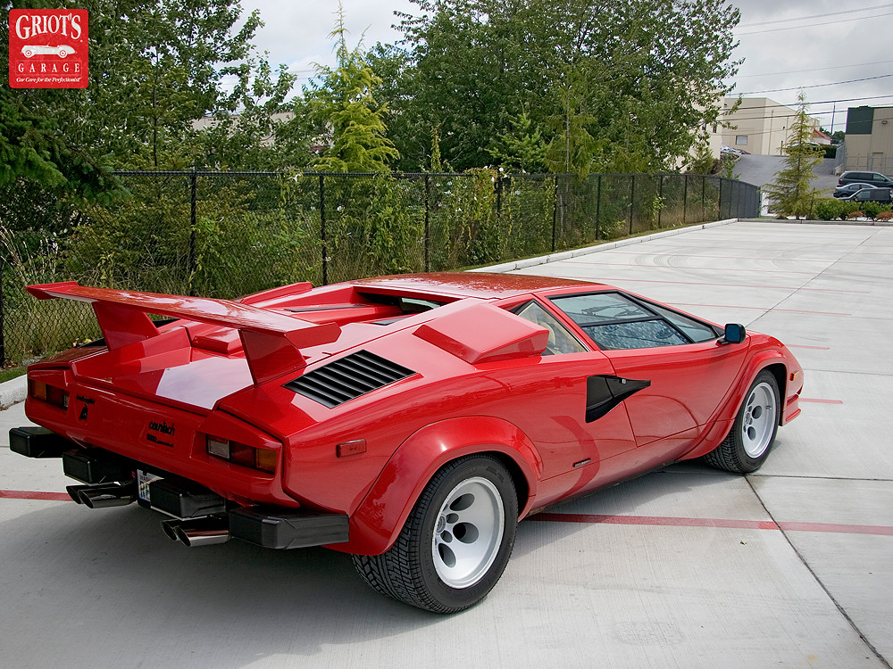 1986 Lamborghini Countach 5000 Qv Griot S Garage Flickr