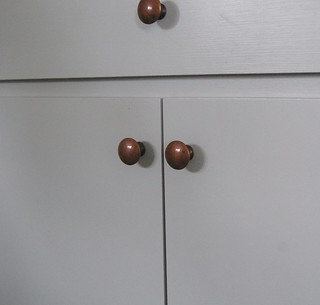 vintage copper knobs | by makingchickensalad