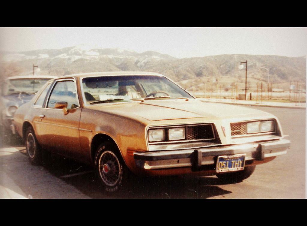 1977 Pontiac Sunbird Two Door Sedan Four Speed Manual