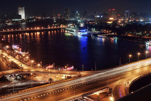 Cairo night scene | by Tamer Jallad