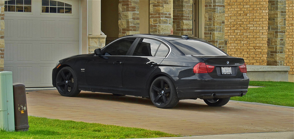Blacked Out Bmw 335i Kyle Ball Flickr