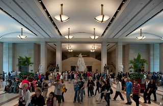 Emancipation Hall in the Capitol Visitor Center | by USCapitol