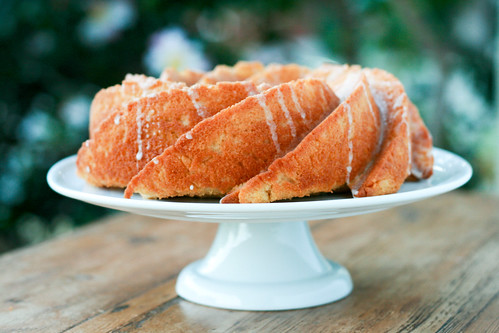Vanilla Bean Bundt Cake with Vanilla Glaze and Strawberries - I Like Big Bundts 2011 | by Food Librarian