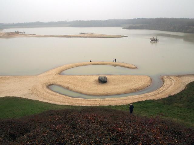 Broken circle land art by robert smithson in emmen flickr