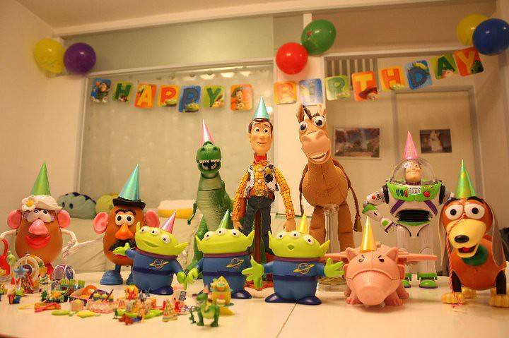 Happy birthday toy story collection shay kapa Flickr