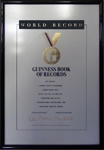 Guinness Book of Records, Oldest Active Passenger Ocean Going Ship | by Craig Wilson Photography
