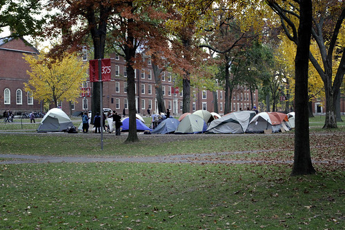 Occupy Harvard Yard | by WBUR