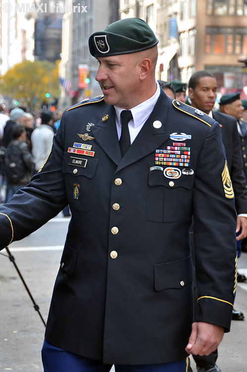 031 veterans day parade us army special forces the