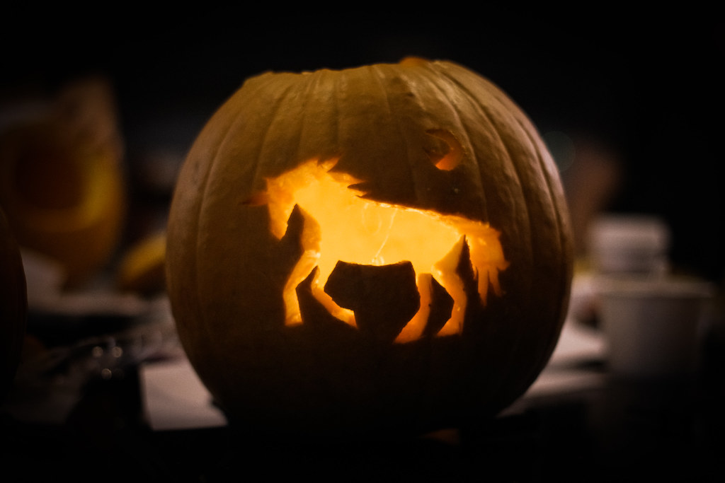 Unicorn Pumpkin Carving Unicorn Pumpkin
