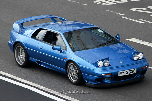Lotus Esprit V8, Causeway Bay, Hong Kong | by Nikhil Sadhwani - Photography