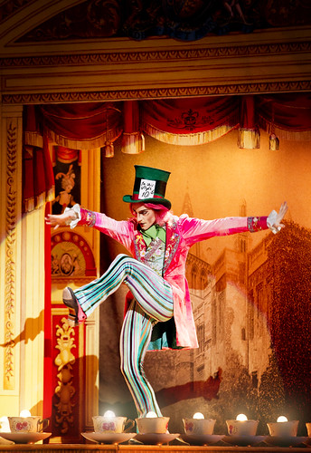 Steven McRae as the Mad Hatter in Alice's Adventures in Wonderland © Johan Persson/ROH 2011 | by Royal Opera House Covent Garden