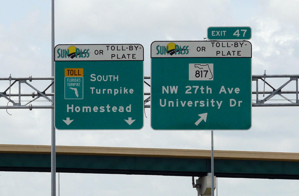 Florida Toll By Plate >> SunPass or TOLL-BY-PLATE_408   These signs are located on th…   Flickr