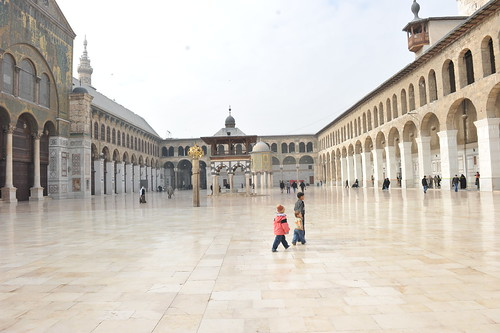 Syria Damascus dic.2010 498 Umayyad Mosque - the Great Mosque of Damascus ( جامع بني أمية الكبير‎) | by tango-
