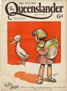 Illustrated front cover from The Queenslander, April 18, 1935 | by State Library of Queensland, Australia