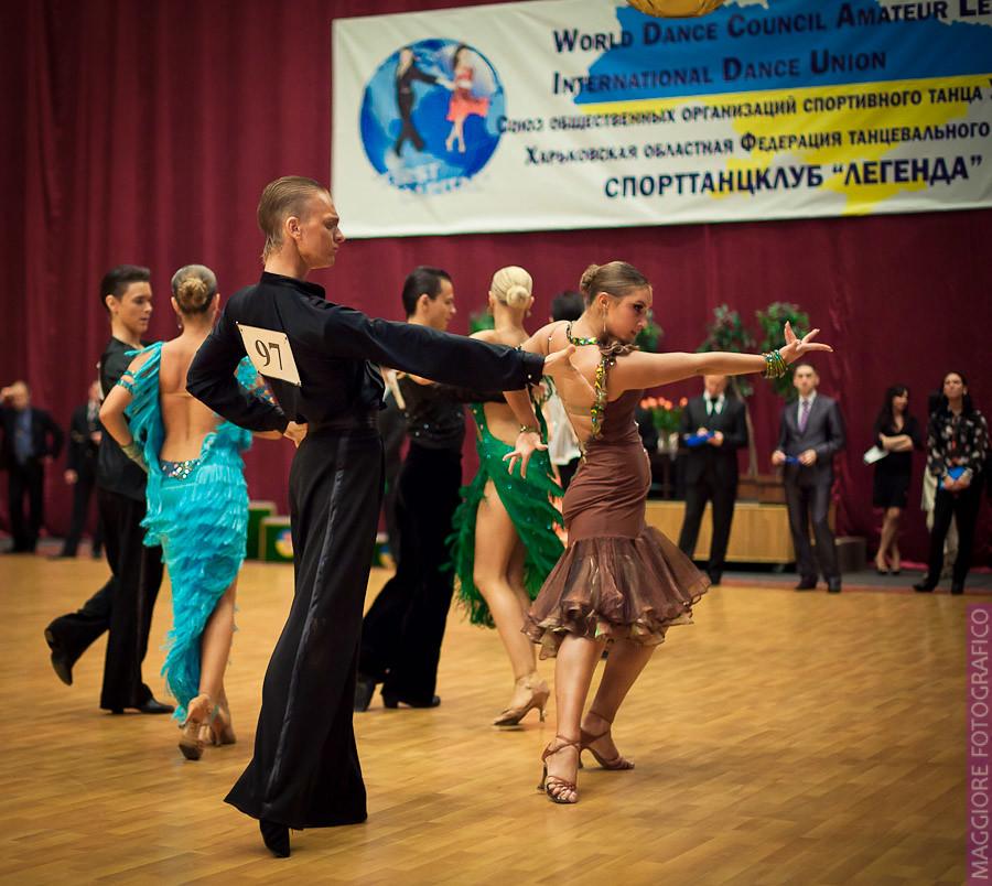 Организация конкурса бальных танцев