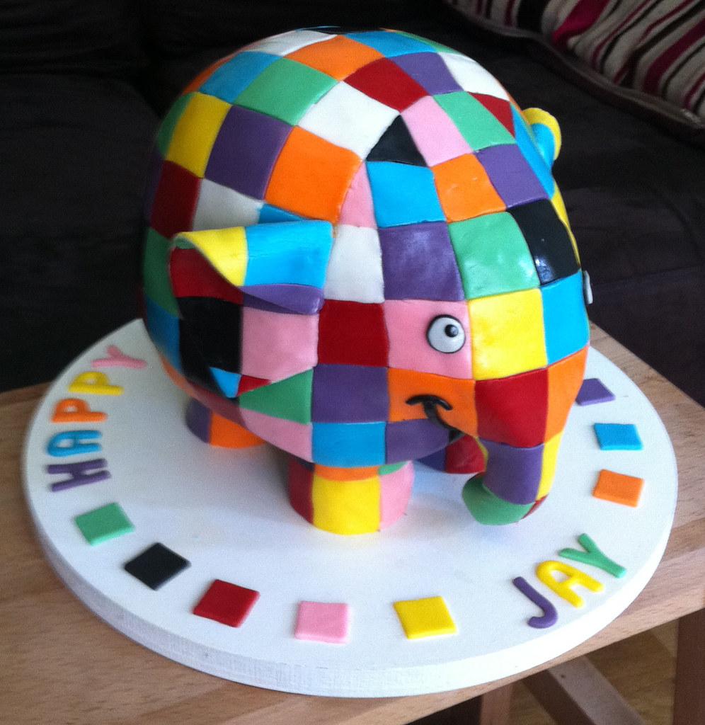 Elephant Cake Decorating Ideas