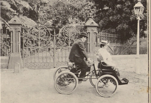 2.3/4 Horsepower Quadricycle, c.1900 | by glen.h