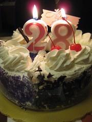 My Sisters 28th Birthday Cake