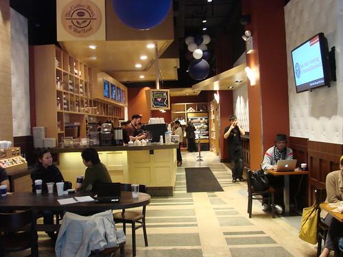 coffee shop blog