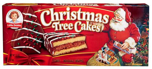 Little Debbie Christmas Tree Cakes Chocolate