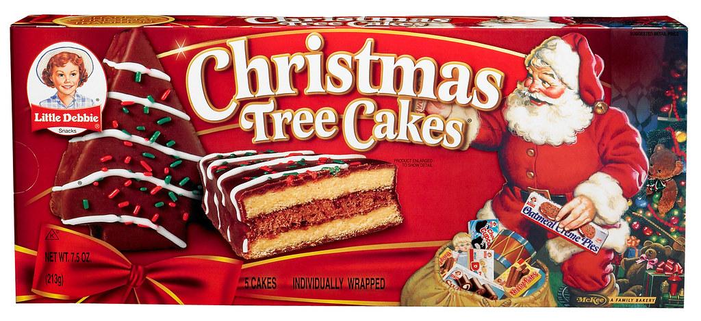Chocolate Christmas Tree Cakes Little Debbie Flickr