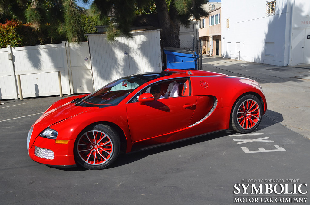 bugatti veyron grand sport red edition this car came strai flickr. Black Bedroom Furniture Sets. Home Design Ideas