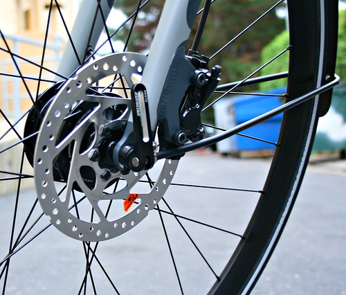 Front disc brake | by Richard Masoner / Cyclelicious