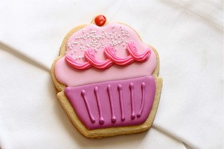 pinkalicious sugar cookies | by Hungry Housewife