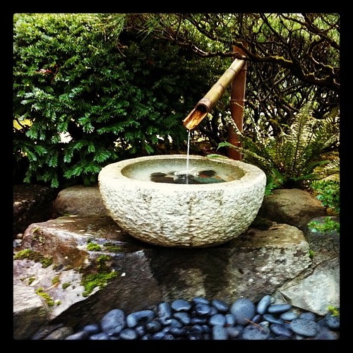 Fountain At The Japanese Garden   Mamie   Flickr