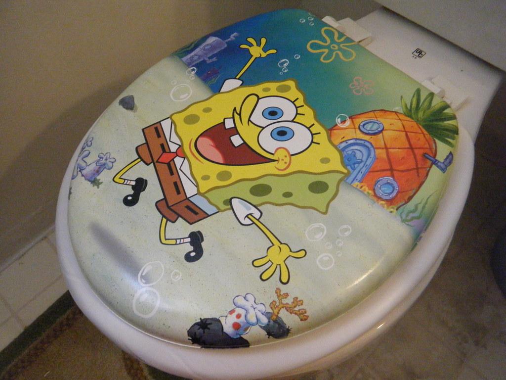 Spongebob Toilet Seat Jasminnies Flickr