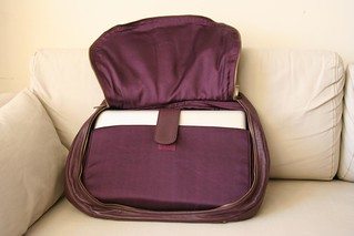 Alesya Bags - Exquisite Eggplant (hidden sleeve) | by ~kate~