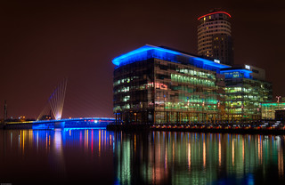 Salford Quays: Media City | by Nick Knowles