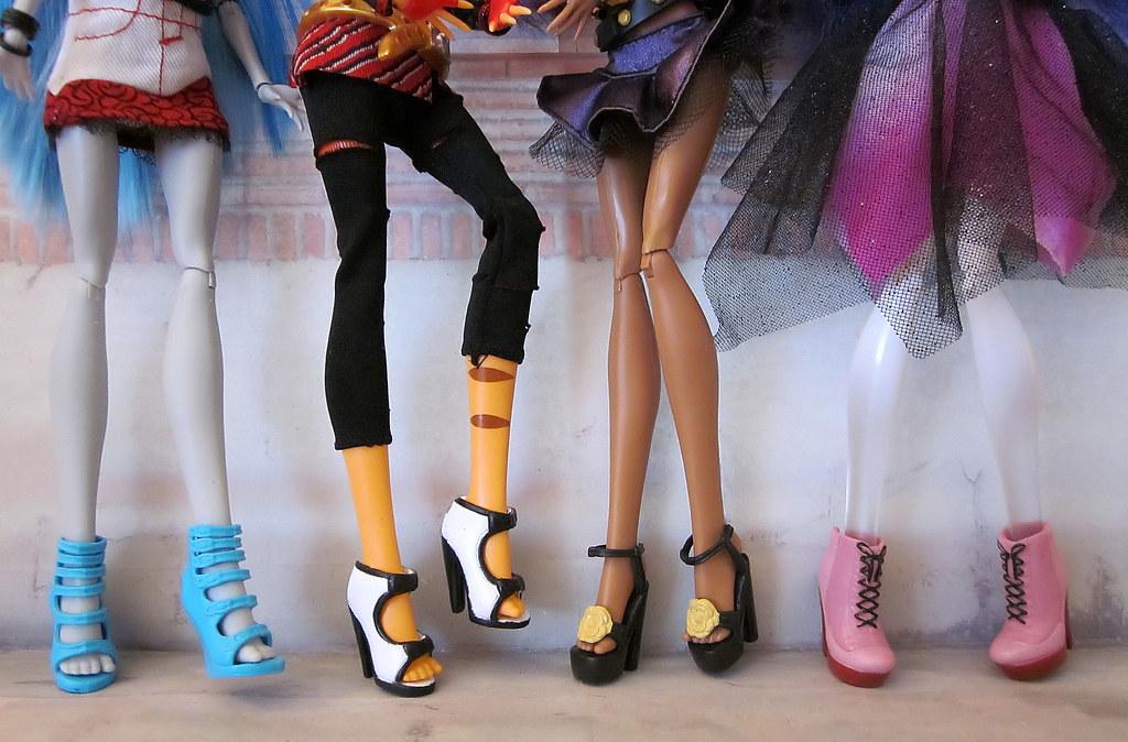 Как сделать туфли кукле барби